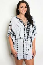 NEW..Stylish Sassy Plus Size Tie Dyed Romper Shorts Playsuit..SZ16-18/2XL