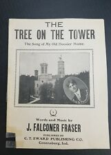 The Tree On The Tower Sheet Music Greensburg Indiana J. Falconer Fraser Rare