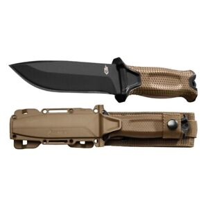 Gerber StrongArm 30-001058N Fixed Blade Knife - Coyote Brown Free Shipping