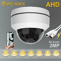 2.5'' 3X ZOOM HD 1080P 2.0MP Mini PTZ CVBS-AHD-TVI-CVI Dome Security Camera IR