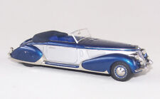 ABC 057B LANCIA ASTURA CABRIOLET PININFARINA 1938 (SILVER/BLUE)