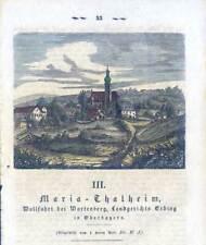 Maria-Thalheim - Wartenberg (Erding) - Holzstich 1859