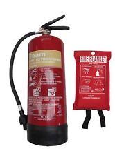 6 Lite FOAM (AFFF) Fire Extinguisher with Blanket - BRITISH STANDARD KITEMARKED