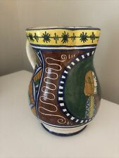Colorful Decorative Pitcher