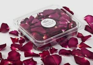 Freeze Dried Rose Petals 100% Natural WEDDING CONFETTI 5 cups .
