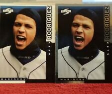(2) 1998 Score Showcase Series #PP116 and #10 Alex Rodriguez Seattle Mariners