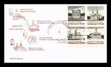 AMERICAN ARCHITECTURE FDC SETENANT SANDRAS CACHETS US COVER KANSAS CITY MISSOURI