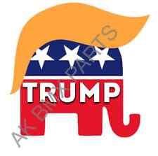 Trump Hair Sticker US Republican 2016 Election 4in Car etc