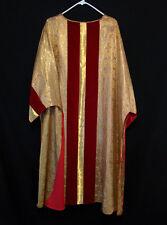 GOLD BROCADE DALMATIC Church Clergy Deacon's Vestments Easter Christmas Festive