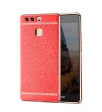 Huawei P8 Lite 2017 Custodia Cover per Cellulare Protettiva Bumper Rosso