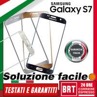 TOUCH SCREEN SAMSUNG GALAXY S7 G930F G930 VETRO ANTERIORE DISPLAY SCHERMO_24H!!