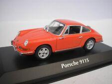 PORSCHE 911 S 1964 ARANCIONE 1/43 maxichamps 940067120 NUOVO