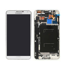 For SAMSUNG Galaxy N9005 Note 3 LTE White LCD Touch Screen Digitizer Frame