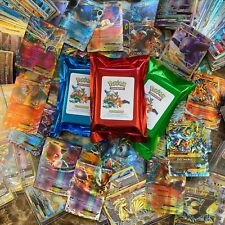 50 Pokemon Tcg Cards ☆ Guaranteed 1st Edition + Holo or Ultra Rares per Fat Pack