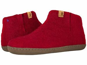 Adult Unisex Slippers Baabushka Bootie with Leather Sole