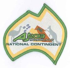 AJ2013 - AUSTRALIA SCOUT JAMBOREE - AUSTRALIAN NATIONAL CONTINGENT SCOUTS BADGE