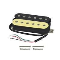 FLEOR Alnico 5 Electric Guitar Bridge Pickup Humbucker Zebra Style Double Coil