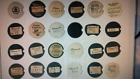 Western Electric telephone dial centers NEW card stock dial cards number cards 3