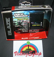 BLAZE RACE MASTER CHEAT CARD FOR RACING GAMES FOR PS1 PLAYSTATION 1 RARE NEW