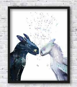 Some About This Love -Dragon Fly-Poster Print