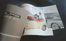 GLAS 1300 GT...Cabrio + Coupé...16-Seiten-Prospekt...RAR + TOLL....1965