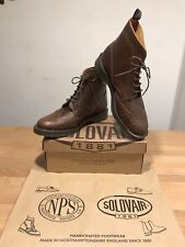 NPS SOLOVAIR Brown Leather Brogues Boots! Size UK12! New! Only £159.90!!!