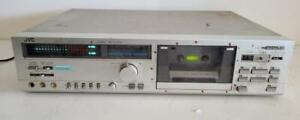 JVC DD-7 Stereo Receiver Cassette Tape Deck 1981 Vintage DD-7J Dolby Silver face