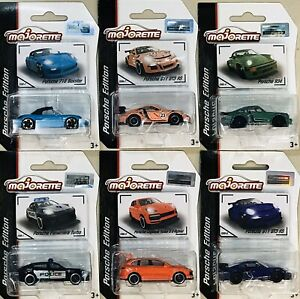 Majorette Porsche Edition Set Of 6