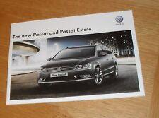 Volkswagen VW Passat Saloon Estate Brochure 2011 1.4 1.8 1.6 2.0 TDI S SE Sport