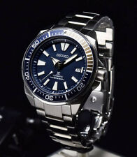 Seiko JAPAN Made Blue Samurai 200M Diver's Men's Watch SRPB49J1