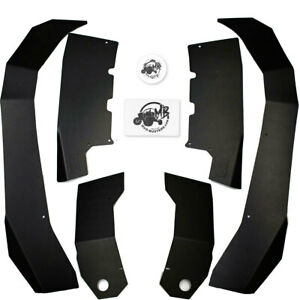 MudBusters Max Coverage Fender Flares for Yamaha Wolverine RMAX2 1000 Models
