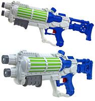 2X Pistola de Agua Dos White Star Galaxy Guerras Soldado Imperial Acción Bomba