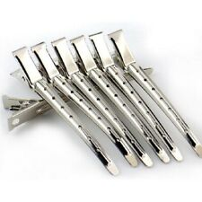 Professional Salon Stainless Hair Clips Hairpins Hair Styling Tools 10pcs