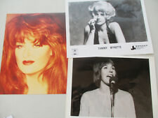 Women Singer Photo Lot Country Western Tammy Wynette Helen Reddy Wynonna Judd