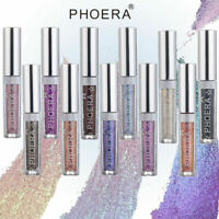 PHOERA MAGNIFICENT METALS LIQUID GLITTER EYESHADOW PALETTE COSMETIC - 10 COLOURS