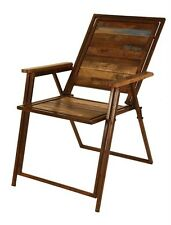 Tyler Folding Chair iron/Wood 18 X 18 X 36 hand crafted 215405DdnI