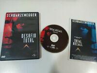 Desafio Total Total Recall DVD Español English ARNOLD SHWARZENEGGER