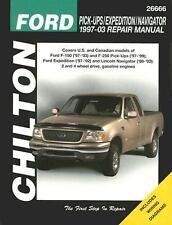 Ford Pick-Ups/Expedition/Navigator 1997-2003 Repair Manual (Chilton's Total Car