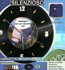 LINEA3: MECCANISMO SILENZIOSO c/LANCETTE ARGENTATE LUNGHE:Fai rivivere i tuoi LP