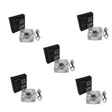 LOT 5 80mm 4 White LEDs LED Desktop Case Fan PC Cooling