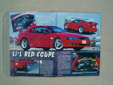 1996 FORD MUSTANG GT RYTECH ***ORIGINAL ARTICLE***