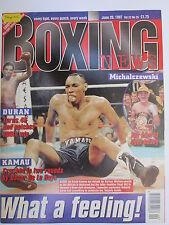 Boxing News 20 June 1997 De La Hoya Barry Jones Hamed Schwer Michalczewski-Hill