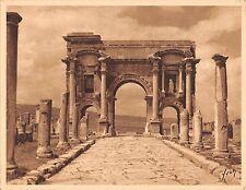 """Br45013 Publicite Horman Toxone Timgad Algerie Arc de Triomphe """"neutraliser les"""