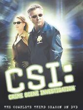 CSI: Crime Scene Investigation - Complete Third Season (DVD, 2004, 6-Disc Set)