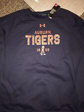 Auburn Tigers Under Armour Pullover Crew Sweatshirt 3XL $60