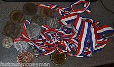 12 Lot Vintage Running Race Medals 5K 10K Runners Racing Marathon Run Awards