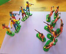 Vintage Timpo Lead /Metal Toy Cowboys & Indians