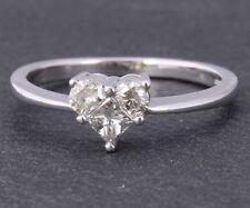 Engagement Natural White Gold I2 Fine Diamond Rings