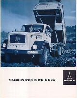 Magirus Deutz 200 D 26 K 6x4