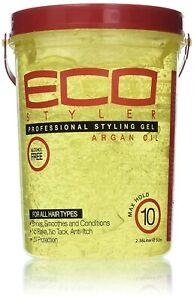 ECO Styler Argan Oil Styling Hair Gel 5LBS Bumper Offer !!!*FREE UK POST*!!!